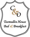 This is the Toomullin House logo